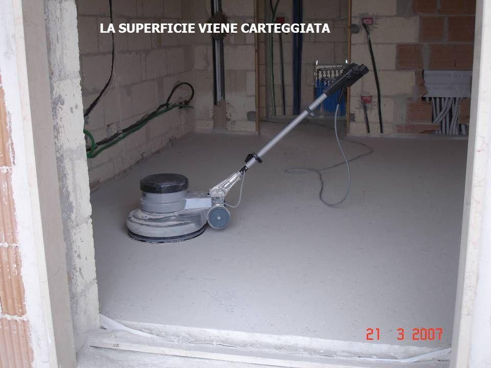 LA SUPERFICIE VIENE CARTEGGIATA