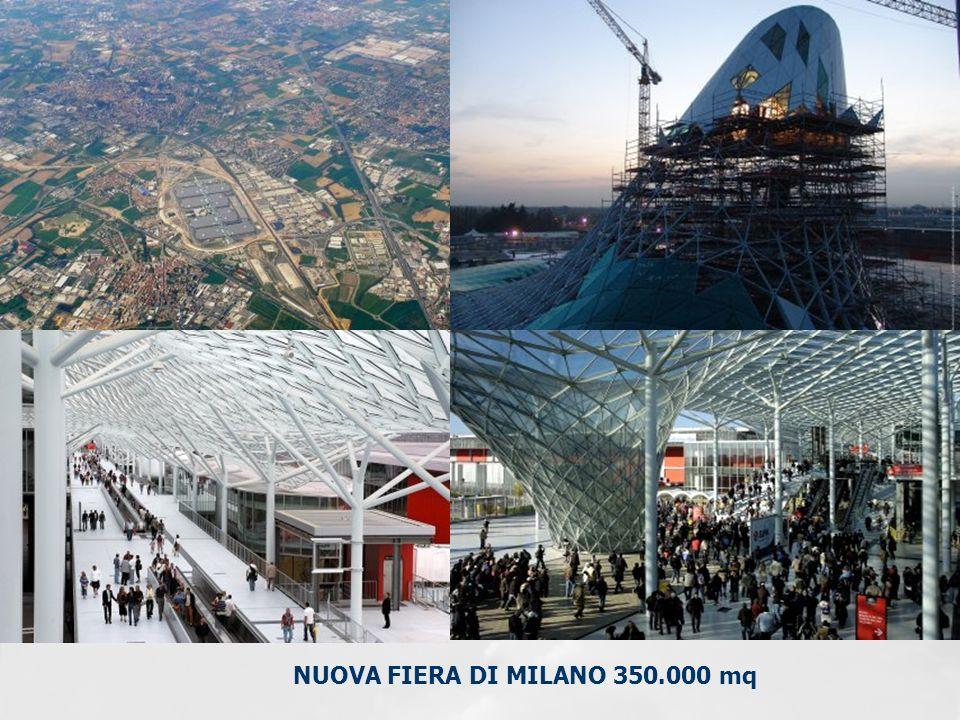 NUOVA FIERA DI MILANO 350.000 mq