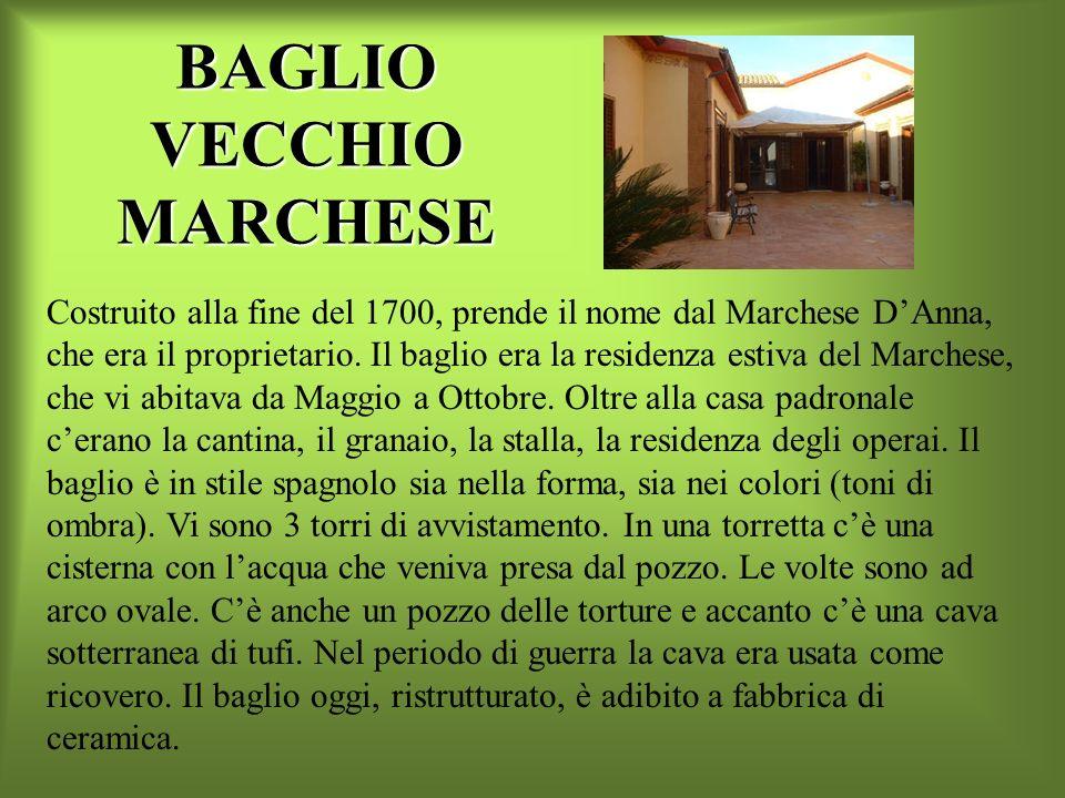 BAGLIO VILLAPETROSA La costruzione della Villa di Beddapiddusa, il cui nome viene italianizzato in Villapetrosa, risale alla fine del XVII. Ledificio
