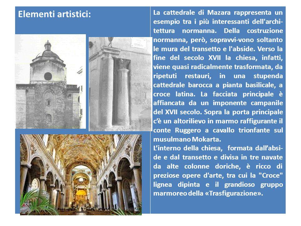 Nome della chiesa Cattedrale Pontificia Basilica Minore SS. Salvatore Ubicazione:Piazza della Repubblica, angolo via Conte Ruggero Datazione:Epoca nor