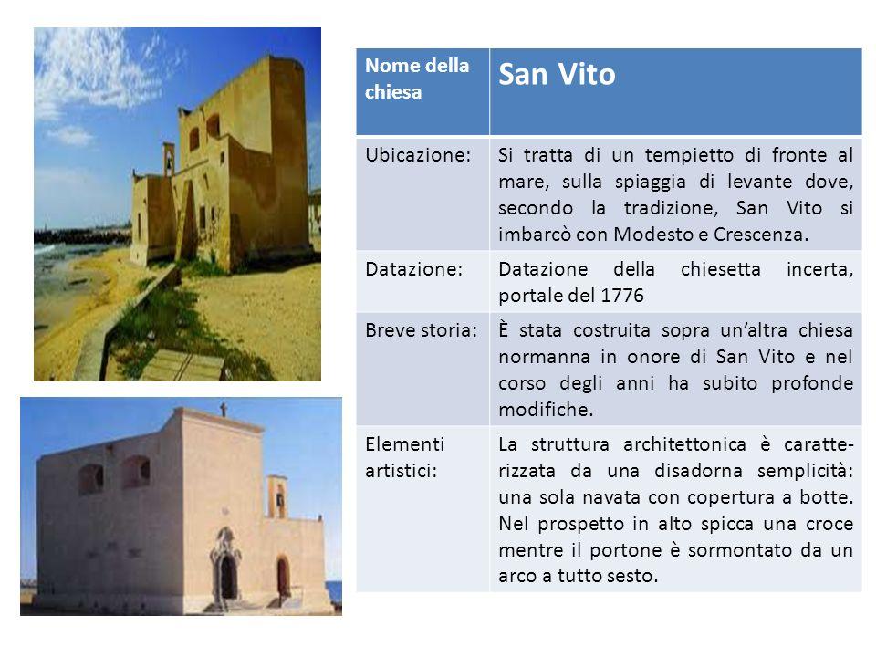 Facciata della chiesa di Santa Veneranda Nome della Chiesa Santa Veneranda Ubicazione:Piazza santa Veneranda Datazione:XVII-XVIII secolo Breve storia: