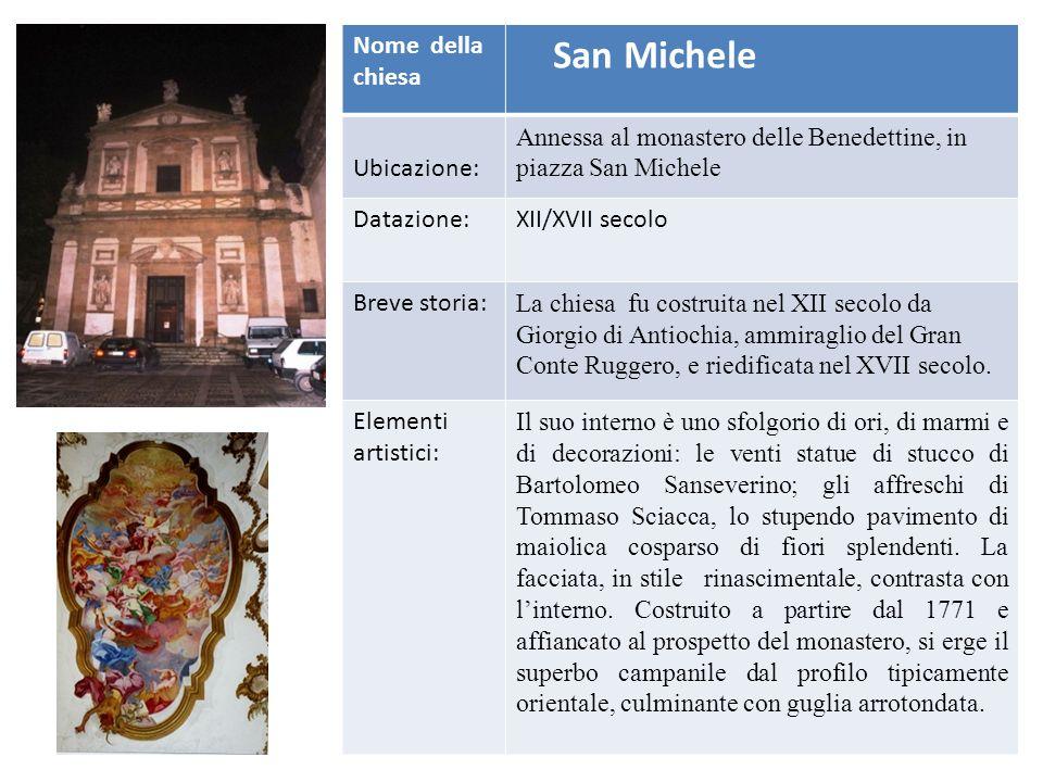 Nome della chiesa San Vito Ubicazione:Si tratta di un tempietto di fronte al mare, sulla spiaggia di levante dove, secondo la tradizione, San Vito si