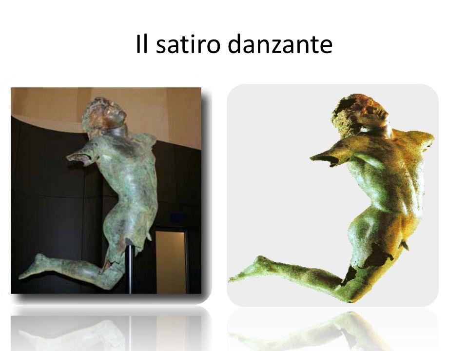 La statua del Satiro danzante, rinvenuta nella primavera del 1998 durante una battuta di pesca nel canale di Sicilia, è un rarissimo esempio di statua