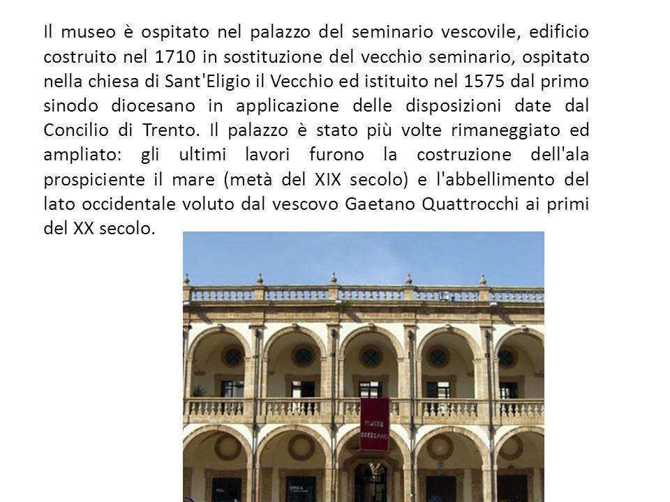 Il Museo diocesano di Mazara del Vallo è un museo che raccoglie una significativa collezione di argenti e paramenti sacri di epoca compresa tra il XIV