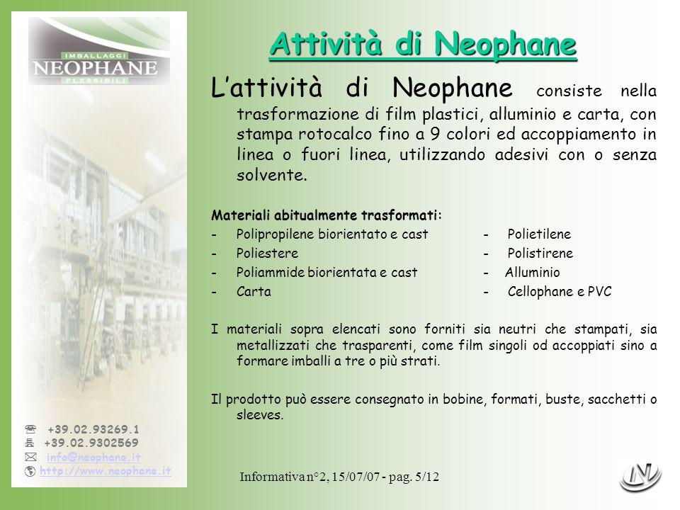 Informativa n°2, 15/07/07 - pag.