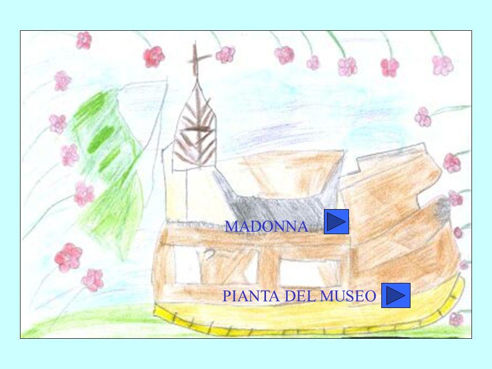 MADONNA PIANTA DEL MUSEO