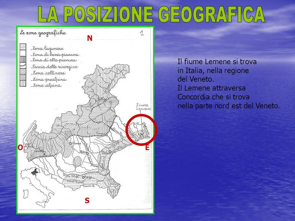 Il fiume Lemene si trova in Italia, nella regione del Veneto.