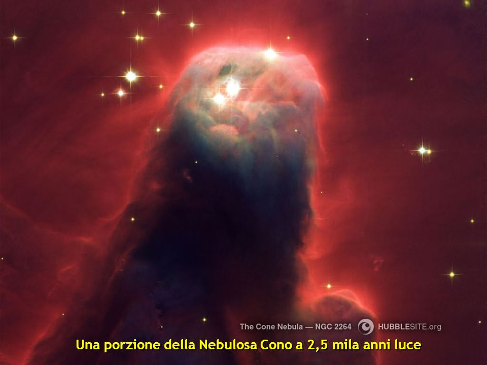 La Nebulosa Clessidra posta a 8000 anni luce. E il risultato di una stella esplosa.