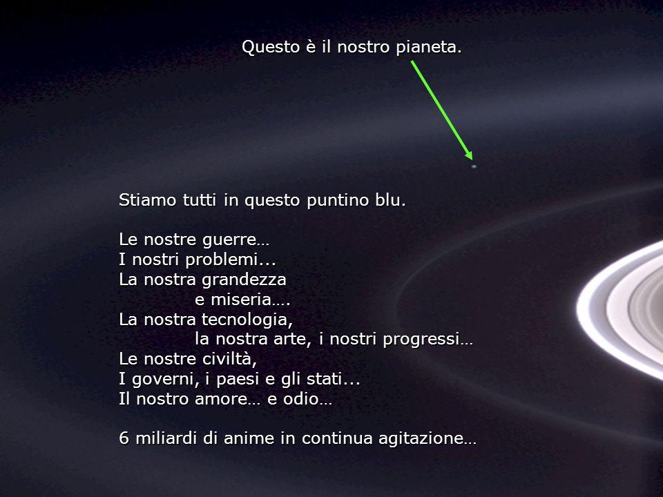 Guarda questa foto per qualche istante E stata scattata dalla sonda Cassini- Juygens, nel 2004, quando ha raggiunto gli anelli di Saturno.