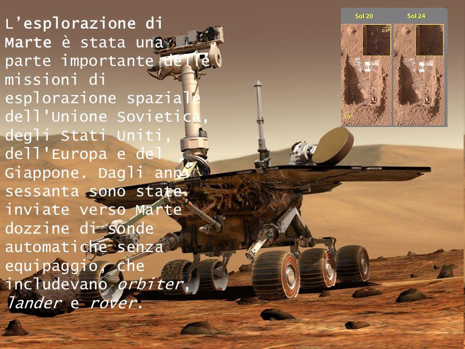 Il pianeta Marte possiede due satelliti naturali di piccole dimensioni: Phobos e Deimos. Si tratta dell'unico pianeta roccioso del sistema solare inte