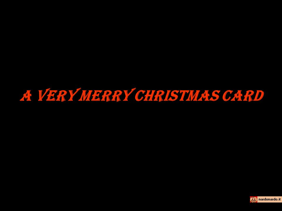 Merry Xmas Oh si .