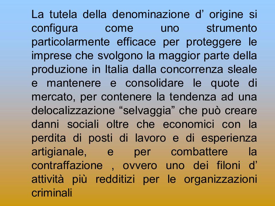 Le innovazioni apportate nel 2009 alla normativa anticontraffazione L art.
