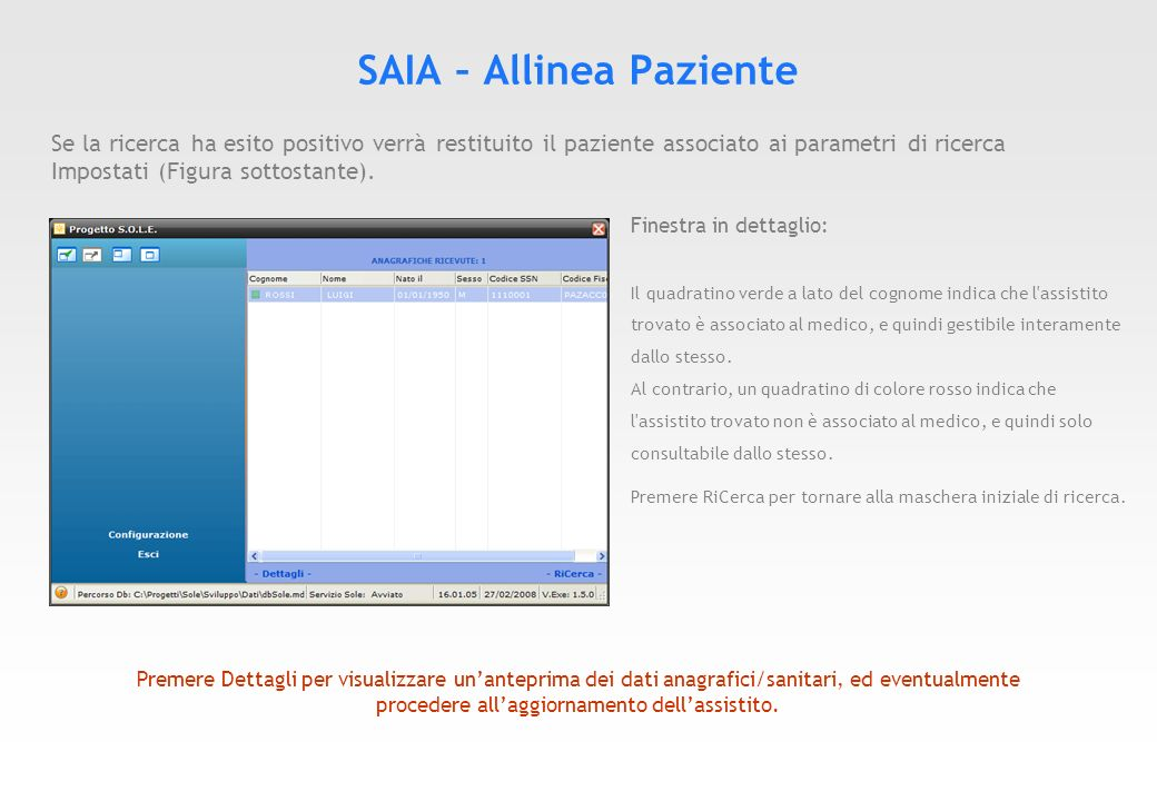 Dove trovare il documento HELP SOLE IATROS Il documento è scaricabile al seguente indirizzo.