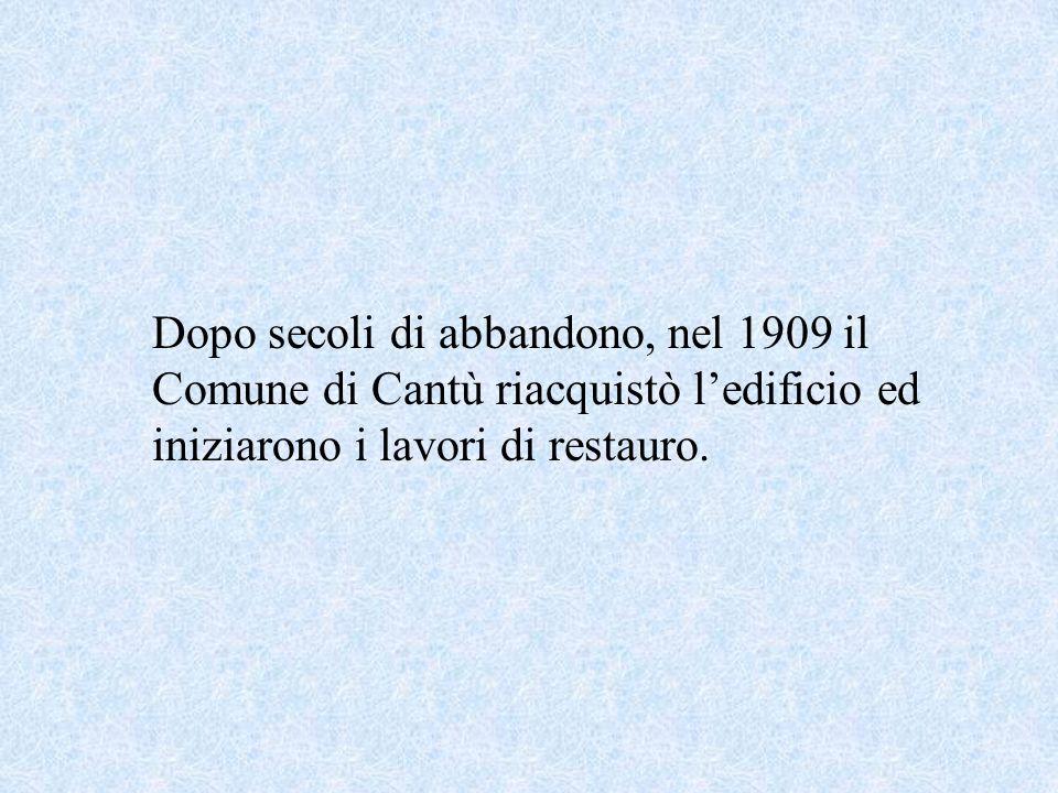 San Vincenzo è stata la chiesa più importante della pieve nel medioevo, poi iniziò un periodo di decadenza e nel 1582 larcivescovo di Milano, Carlo Bo
