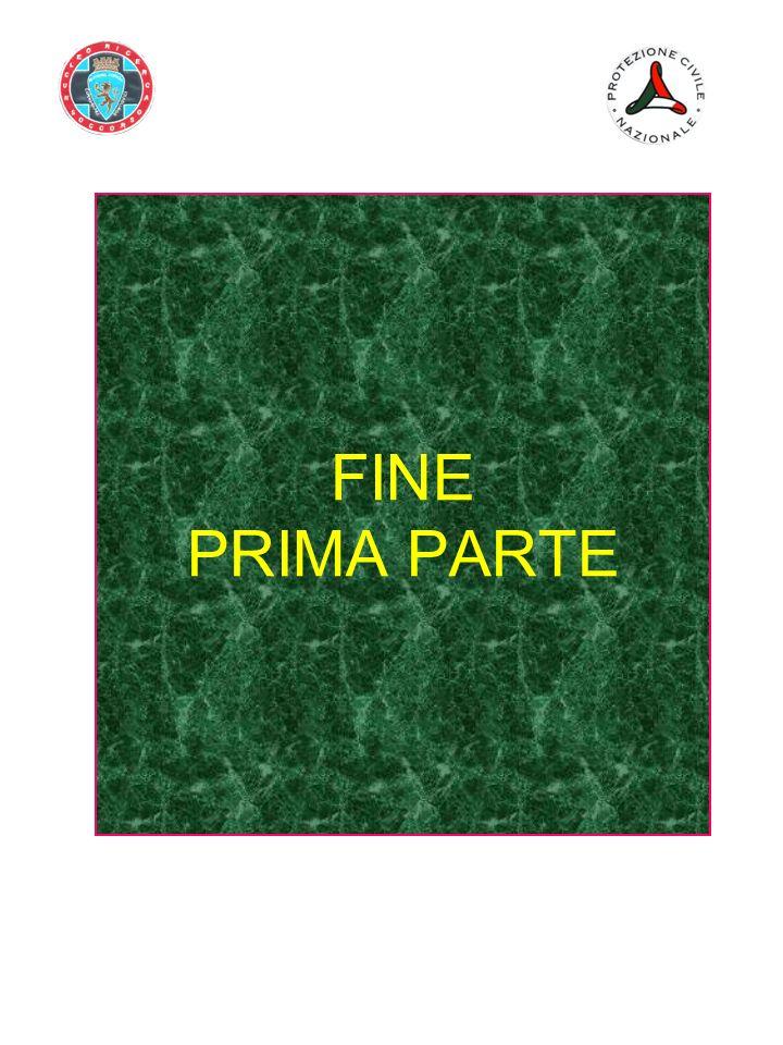 FINE PRIMA PARTE