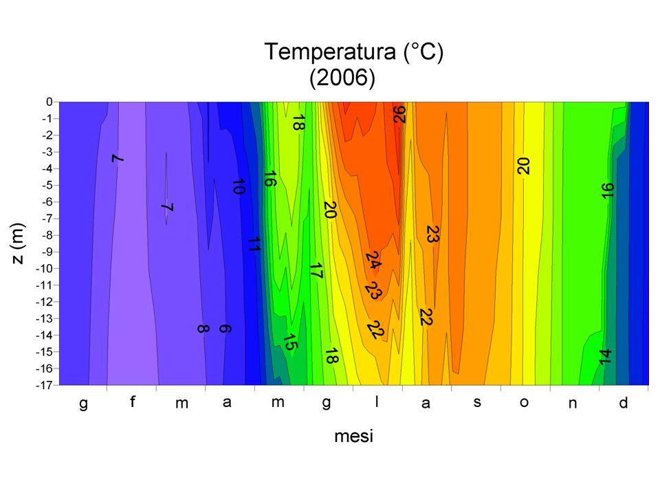 Dati presentati da OGS-BIO allincontro OAA 11/10/2007 Temperature (1991-2007)