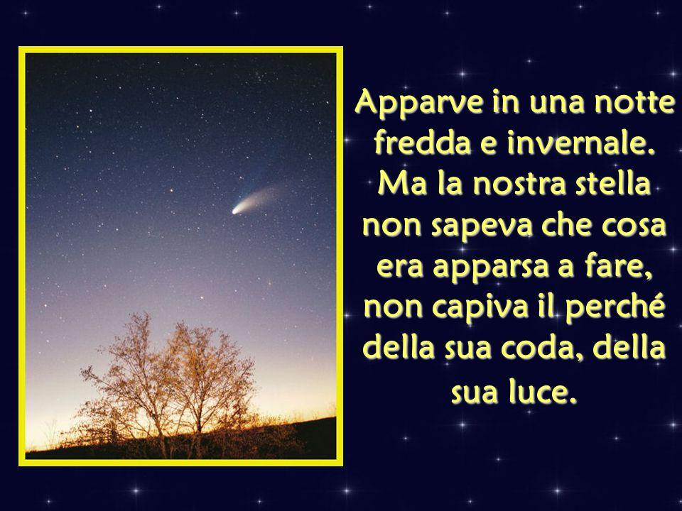 Più di duemila anni fa, apparve nel firmamento del cielo una stella nuova. Era una stella diversa, particolare: la sua luce era così forte che il suo