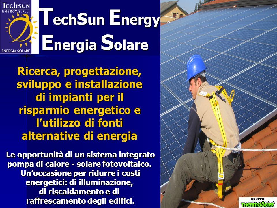 La TechsunEnergy dallidea (tutelata da domanda di brevetto) e dalla passione di Walter Cassani, di professione bancario, e da Alessandro Scarioni, di professione installatore elettrico.