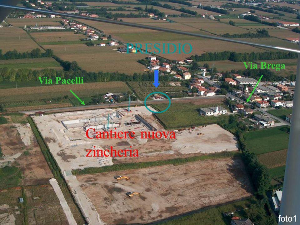 foto1 Cantiere nuova zincheria PRESIDIO Via Pacelli Via Brega
