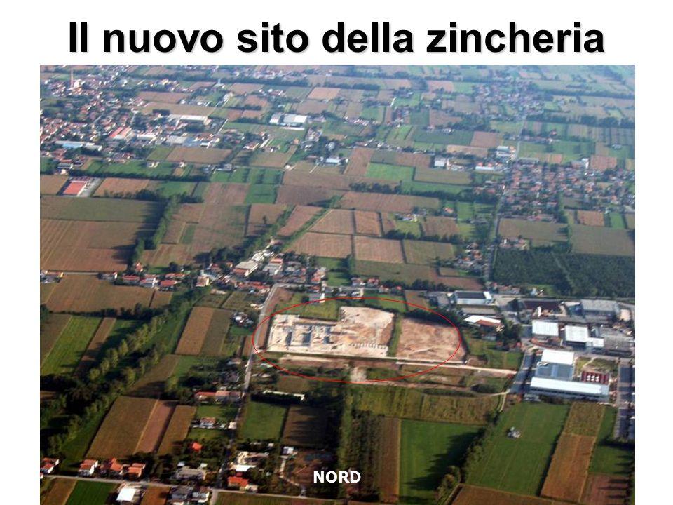 Il nuovo sito della zincheria NORD