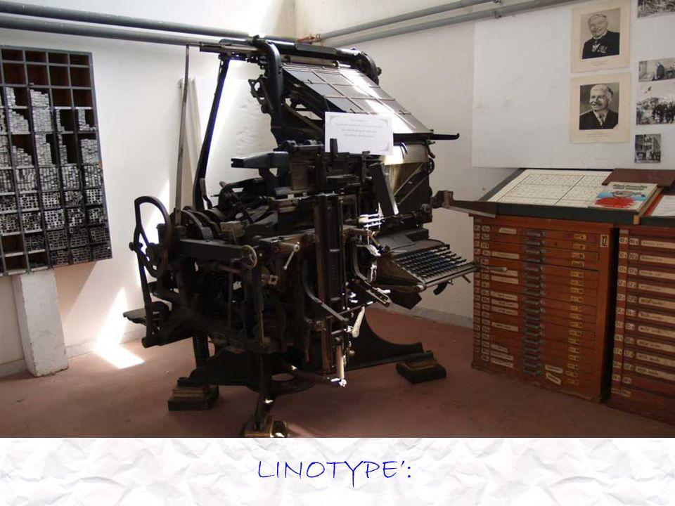 LINOTYPE: