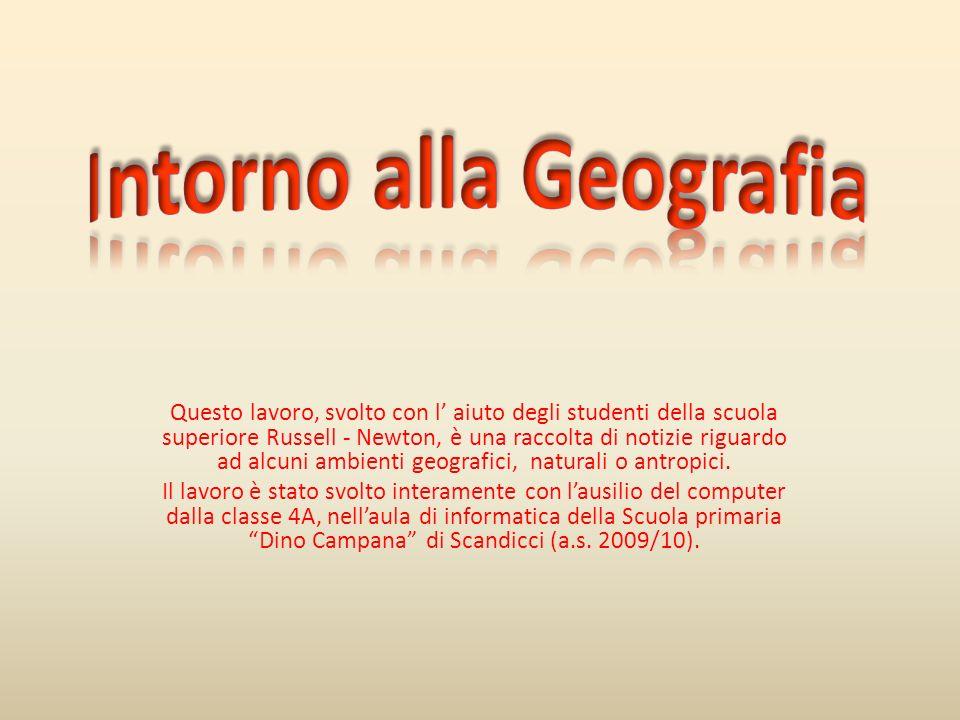 Questo lavoro, svolto con l aiuto degli studenti della scuola superiore Russell - Newton, è una raccolta di notizie riguardo ad alcuni ambienti geogra