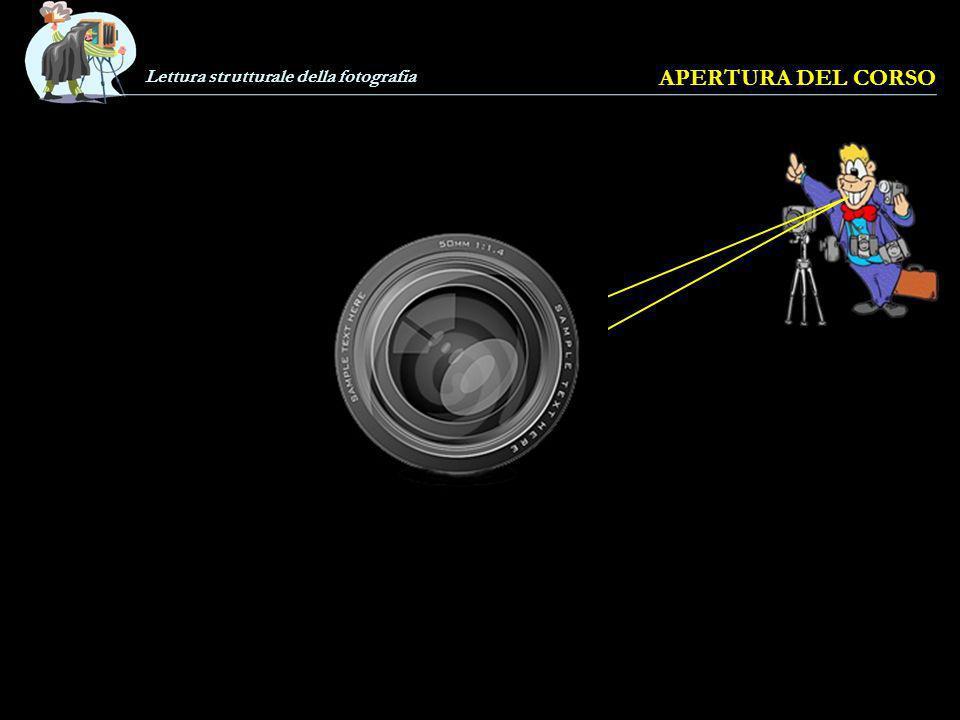 Lettura strutturale della fotografia APERTURA DEL CORSO Come si fa a «capire» una foto e a leggerla nei suoi vari significati.