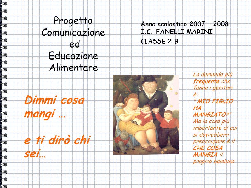 Anno scolastico 2007 – 2008 I.C. FANELLI MARINI CLASSE 2 B La domanda più frequente che fanno i genitori è: