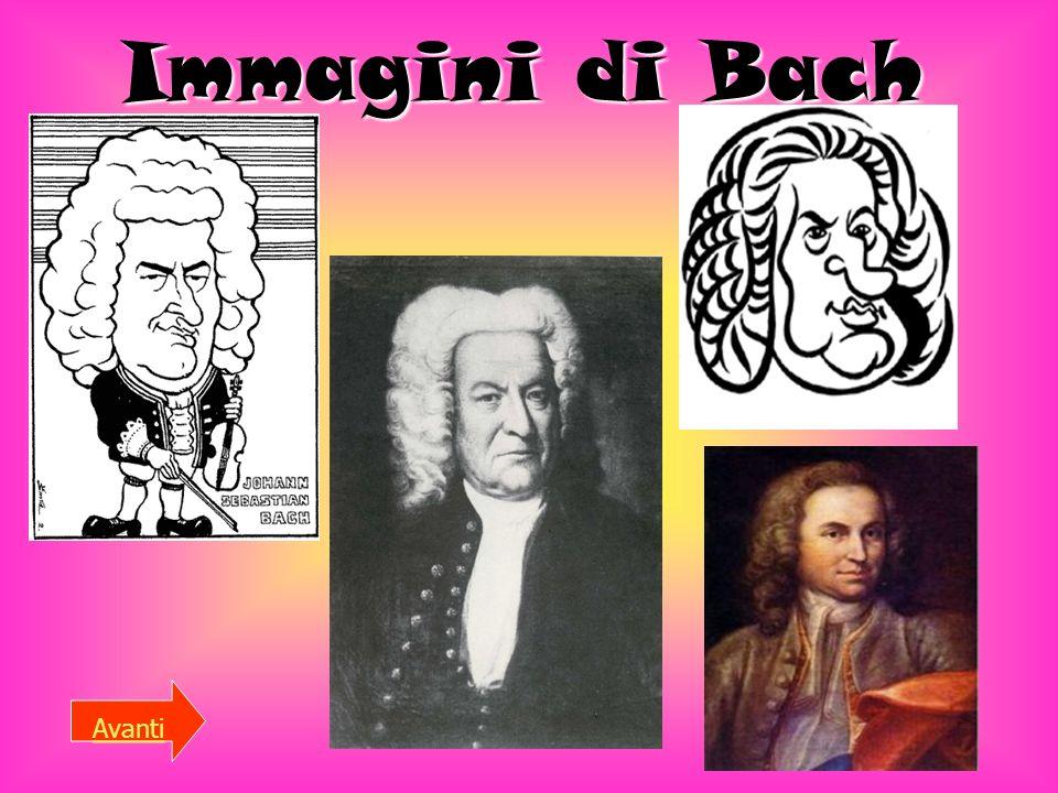 Che cosa ha fatto? Johann Sebastian Bach (Eisenach, 21 marzo 1685 – Lipsia, 28 luglio 1750) è stato un compositore e organista tedesco del periodo bar
