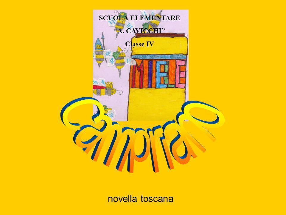 novella toscana SCUOLA ELEMENTARE A. CAVICCHI Classe IV
