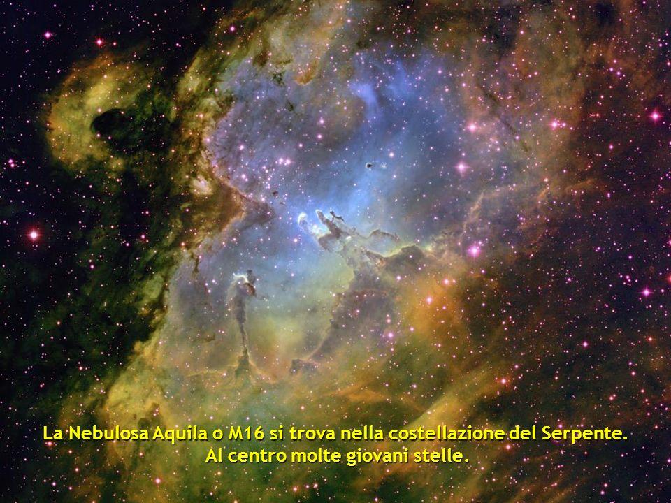 Frammento della Nebuolosa Trifid a 9000 anni luce. a 9000 anni luce.