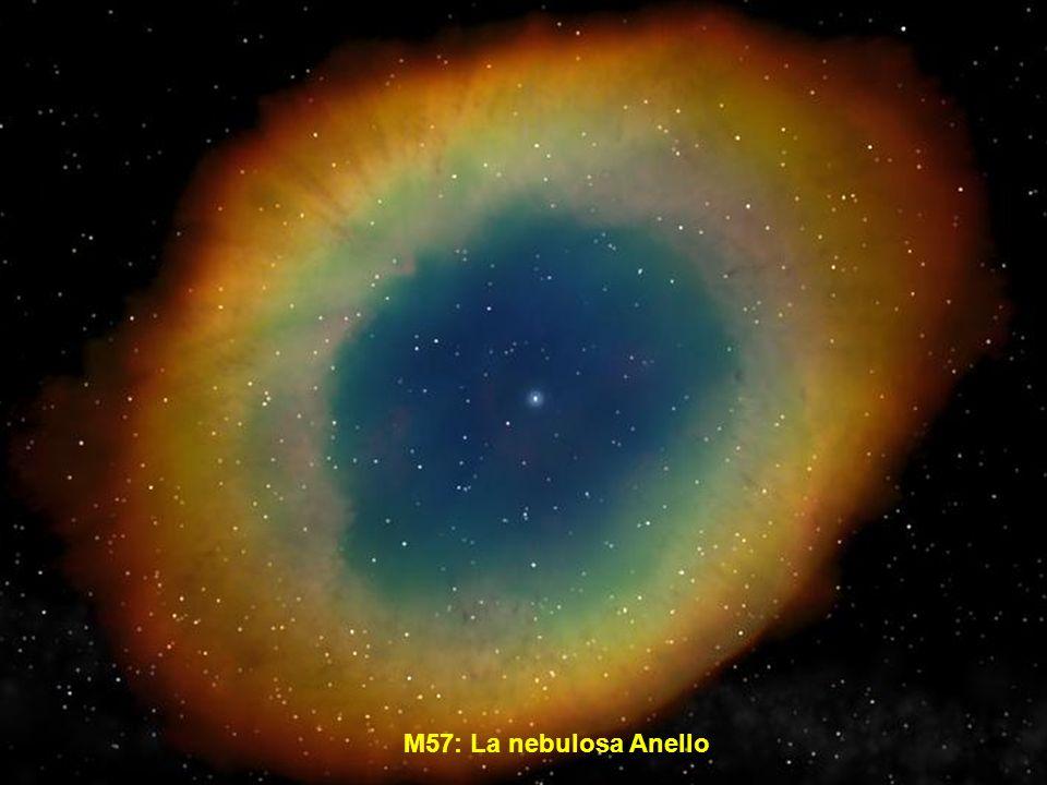 La Nebulosa Aquila o M16 si trova nella costellazione del Serpente. Al centro molte giovani stelle.