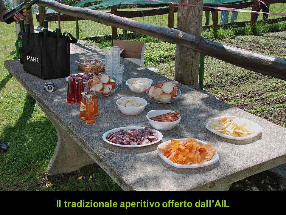 Il tradizionale aperitivo offerto dallAIL