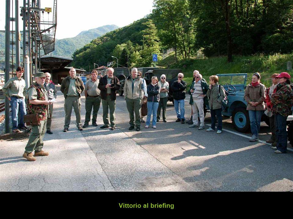 Vittorio al briefing