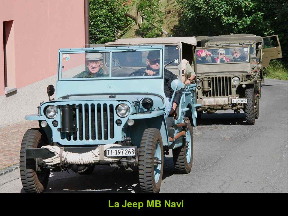 La Jeep MB Navi