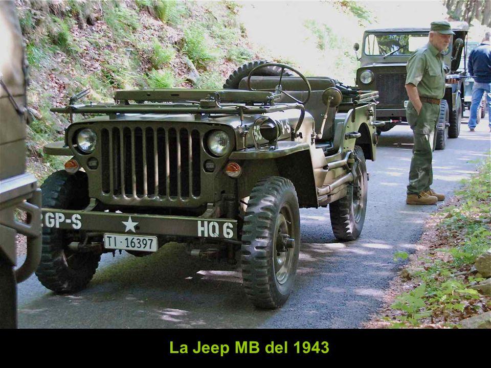 La Jeep MB del 1943