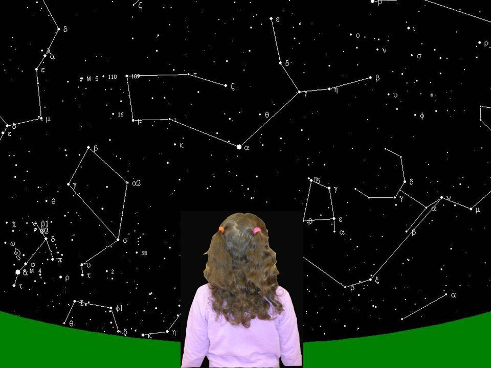 Quand, je suis né, le ciel était plein d'étoiles. En plus on observait deux planètes: Mercure et Vénus. Dans le ciel on trouvait encore les constellat