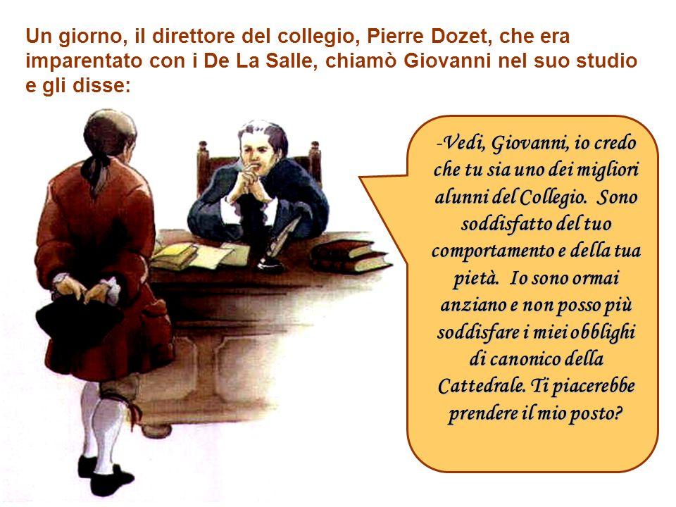 I giorni di vacanza, Giovanni Battista accompagnava il nonno, Jean Moët, nei suoi vigneti, al frantoio e nelle cantine. Che piacere sarebbe stato per