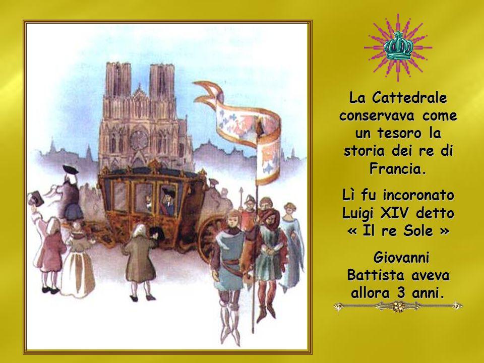 La Cattedrale conservava come un tesoro la storia dei re di Francia.
