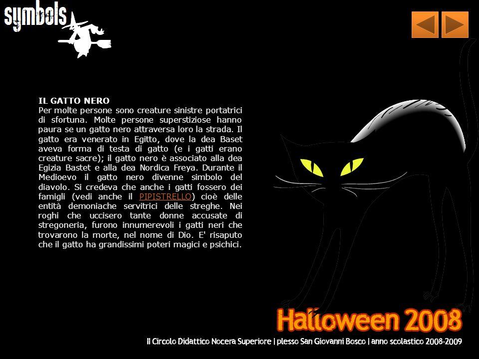 FANTASMI E SCHELETRI Sono la diretta associazione tra Halloween e la morte/rinascita.