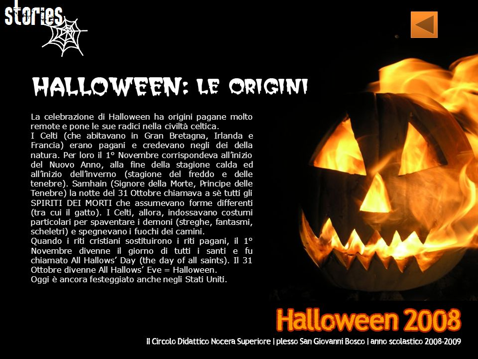 I m the ghost of Halloween I m blue, red and green Stand up and come with me Let s have a terrible Halloween.