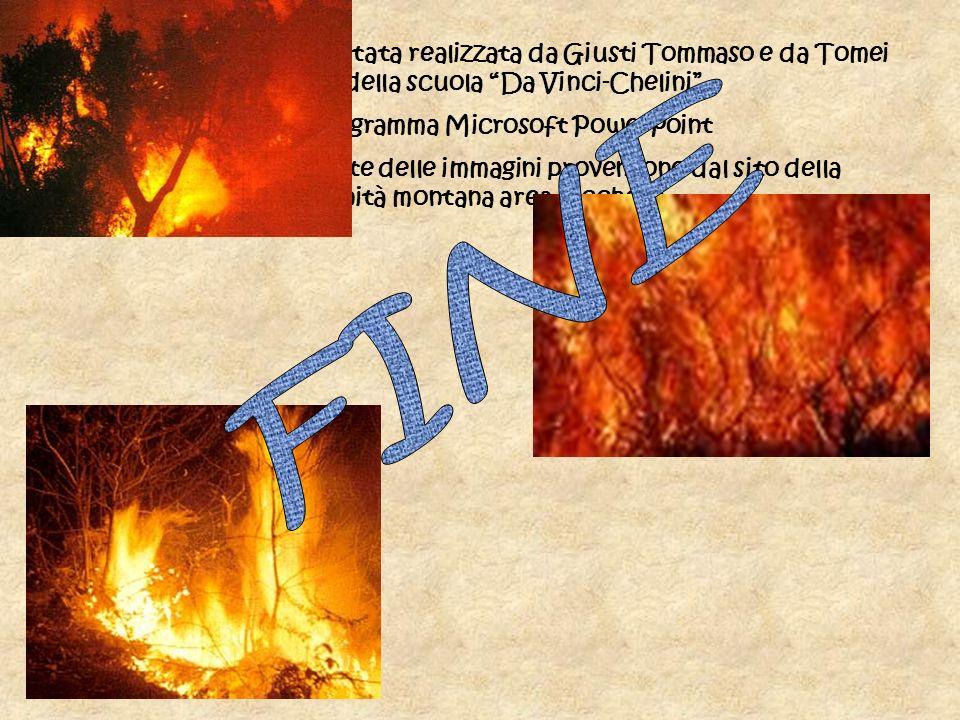 Questa presentazione è stata realizzata da Giusti Tommaso e da Tomei Stefano della scuola Da Vinci-Chelini Con il programma Microsoft PowerPoint Le no
