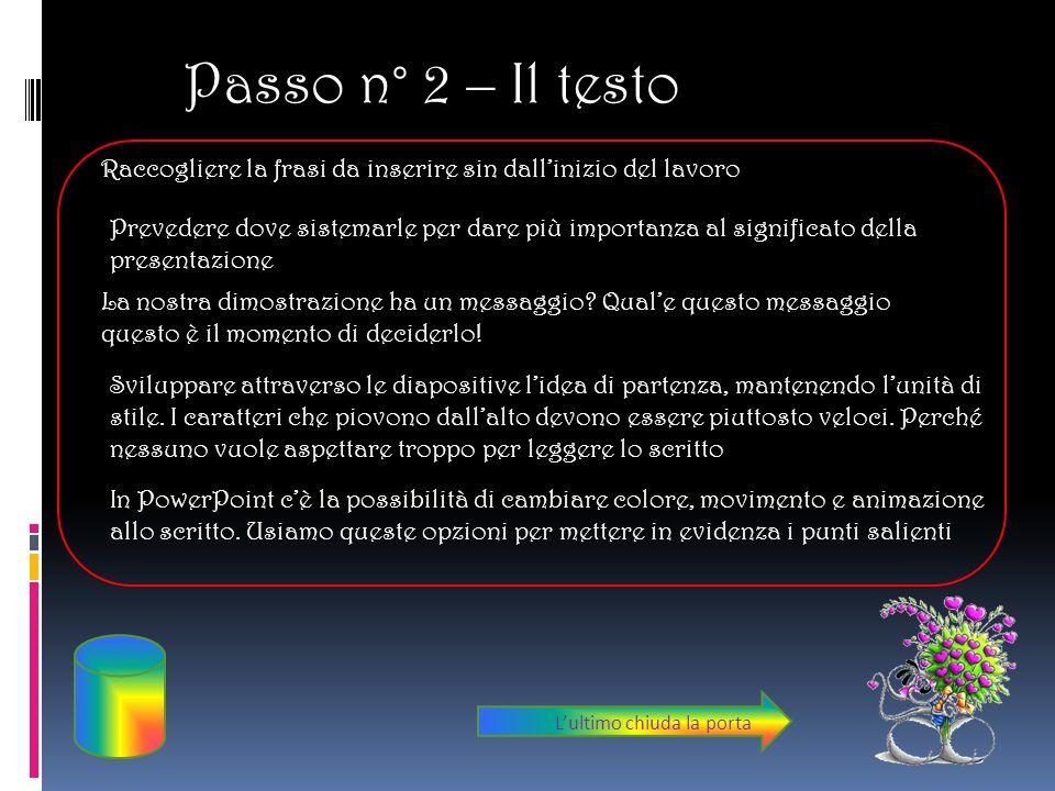 Passo N° 3 – Le Immagini Creare una cartella per la lezione dove si salveranno i file immagine e quello di PowerPoint.