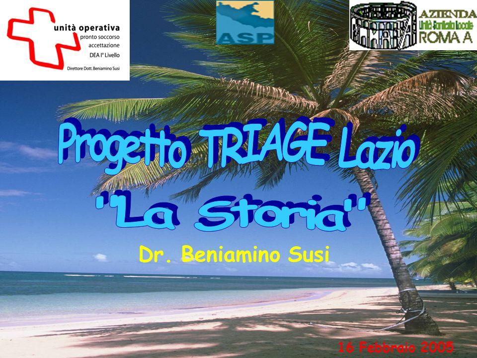 Dotazioni di base SPAZIO TRIAGE: pz barellati (privacy sbarellamento) pz deambulanti LOCALE ATTESA POST-TRIAGE 1.2.