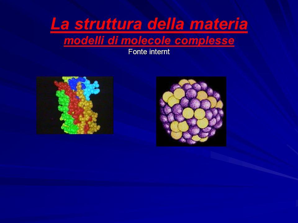 La struttura dell'atomo Due o più atomi uguali o diversi, se vicini, possono mettere in comune qualche elettrone e legarsi insieme formando la molecol