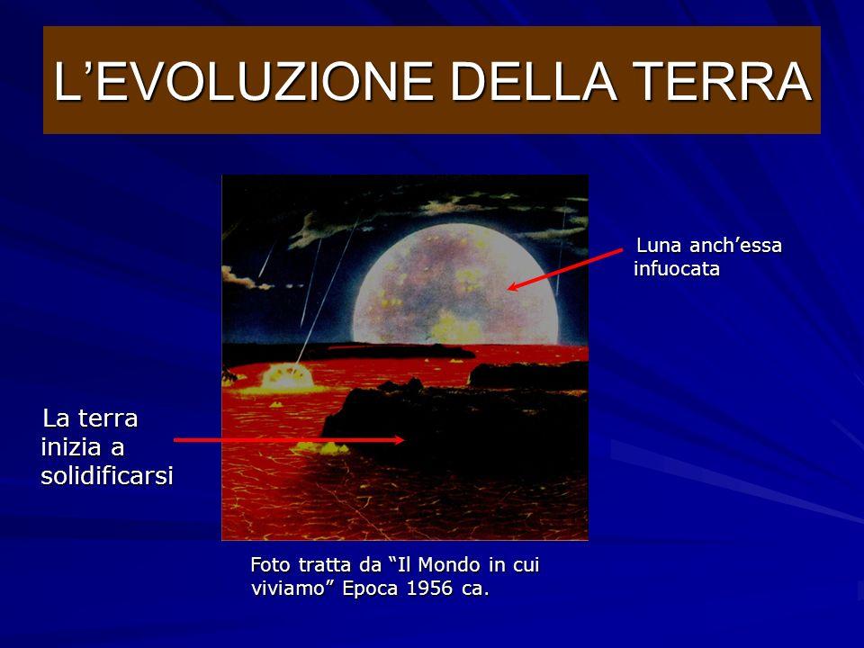 La Terra è molto vecchia, è nata circa 4 miliardi e mezzo di anni fa aggregando attorno a se la polvere interstellare troppo lontana dal Sole per cade