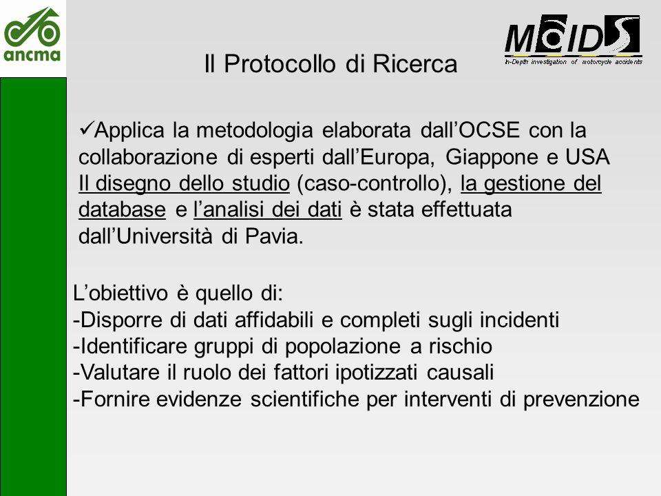 Il Protocollo di Ricerca Applica la metodologia elaborata dallOCSE con la collaborazione di esperti dallEuropa, Giappone e USA Il disegno dello studio