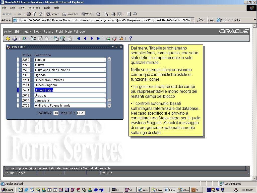 Per qualsiasi soggetto, cliccando sulla tab Usi Indirizzi si possono registrare lassociazione dell'indirizzo e delleventuale contatto valida da un cer