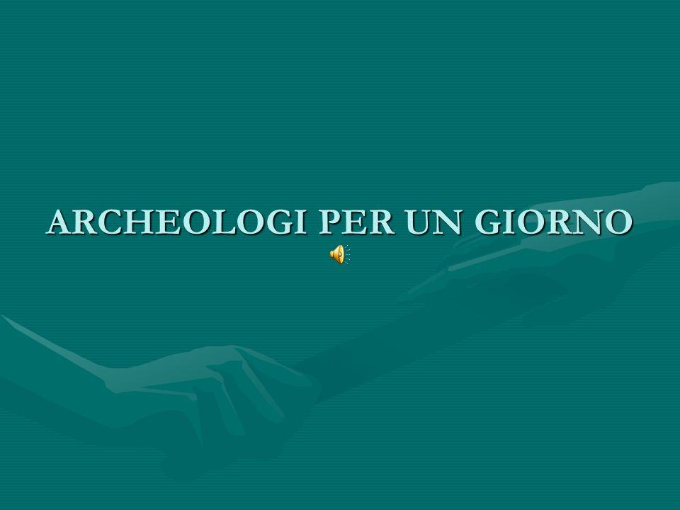 DIARIO DI UNA MATTINA AL POLO ARCHEOLOGICO DELLA SCUOLA CECCONI.