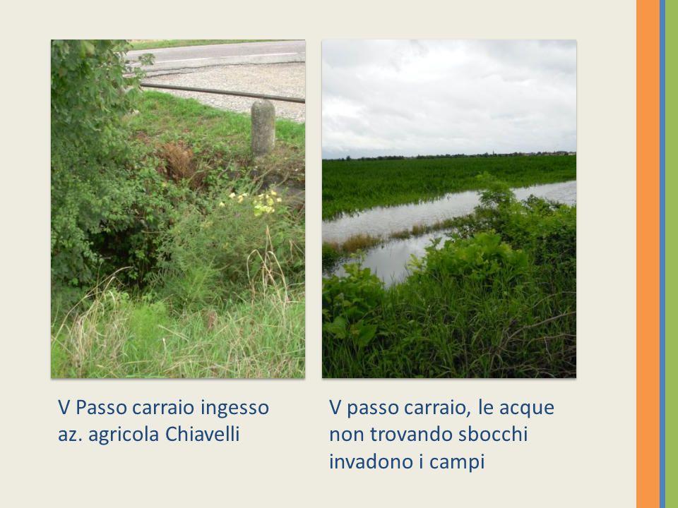 Canale:Dugale del Papa,raccoglie le acque provenienti da S.Silvestro per confluire in Fossaviva